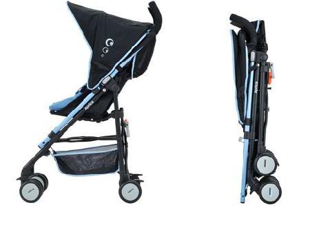 Aprica Stick Gekko Stroller Blue 2 | gubibaby