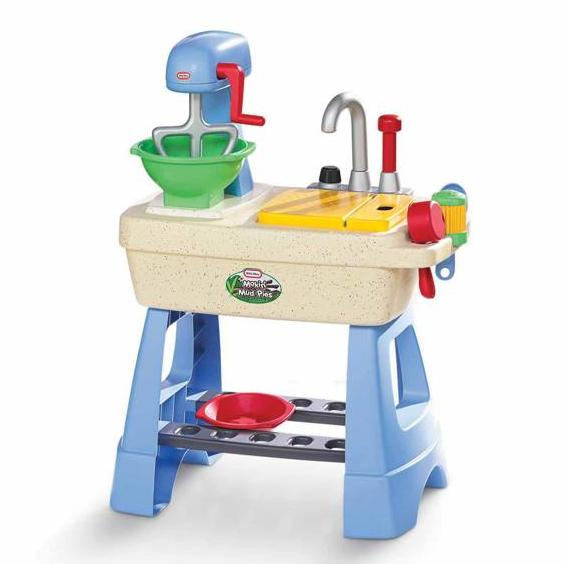Role play gubibaby for Little tikes 2 in 1 buildin to learn motor workshop
